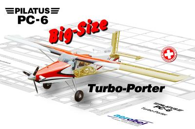 Pilatus Turbo-Porter Big-Size 3m (Teilesatz)