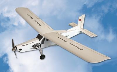 Pilatus Porter PC-6 Laser-Holzbausatz