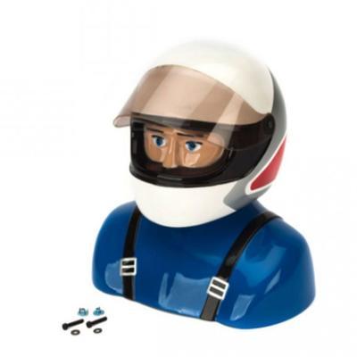 Kunstflug Pilot mit Helm 35%