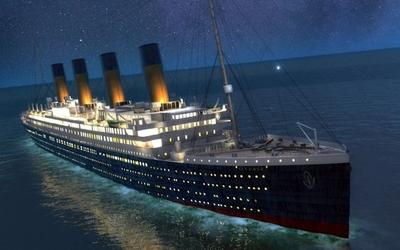 Titanic 1:144