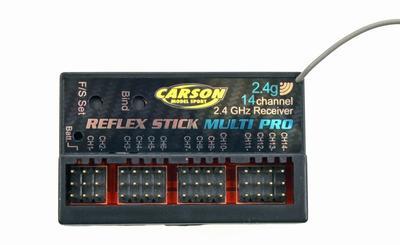 Empfänger REFLEX Stick Multi Pro 14 Kanal 2.4 GHz