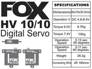FOX HV 10/10 - 9.2 kg CHOCOmotion