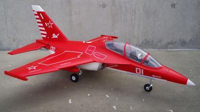 FMS YAK 130 V2 Jet EDF 70 PNP