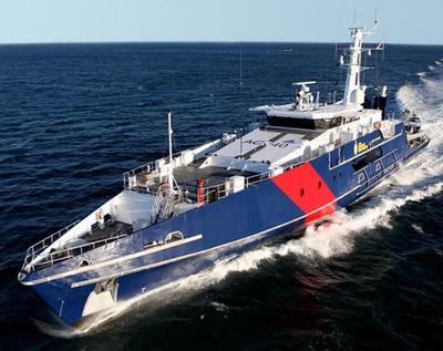 Hacker St George Küstenschutzschiff 1:48