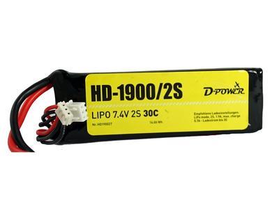 HD-1900 2S Lipo (7,4V) 30C
