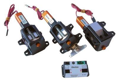 ER50eVo Dreibein-Einziehfahrwerk, ER50eVo set B
