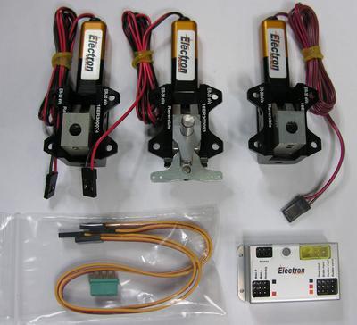 ER30eVo Dreibein-Einziehfahrwerk, set B