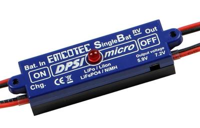 DPSI Micro SingleBat 5.9V/7.2V JR