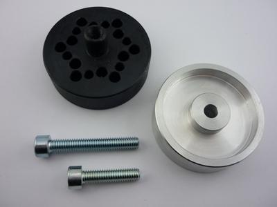 Bohrschablone 6-Loch 26/29/35mm