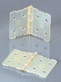 Ruderscharnier 18x28 mm mit Achse
