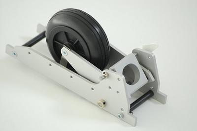 Einziehfahrwerk mit 100mm Rad