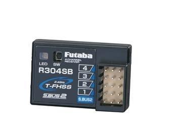 R 304 SB-E, 2.4 GHz T-FHSS (ohne Antenne), Empfänger