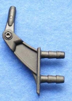Gabelruderhebel CFK 5/20 mm