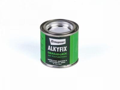 Alkyfix-Emaillelack, rot 100 ml