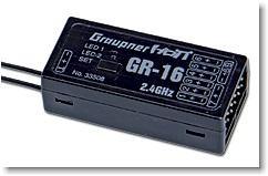 Empfänger GR-16 HoTT