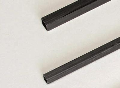 Kohlefaservierkantrohr 3x3x1000