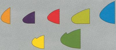 Balsanasenleiste 8x8 mm, violett