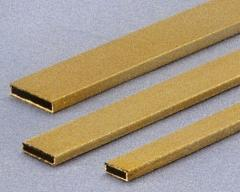 Vierkant-Messingrohr3x13x1000 mm