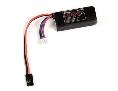 RX-Akku LiFe 2S1P 6.6 V / 500 mA