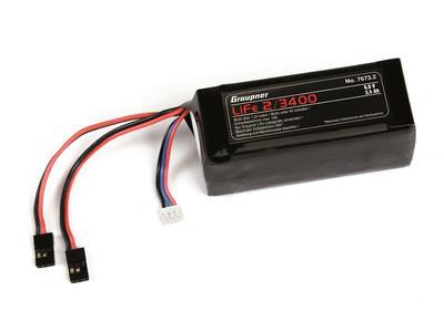 RX-Akku LiFe 2S1P 6.6 V / 3400 mA