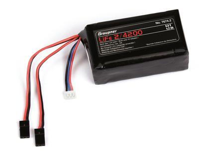 RX-Akku LiFe 2S1P 6.6 V / 4200 mA