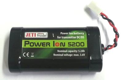 Senderakku Power Ion 6200 für Sender DC/DS