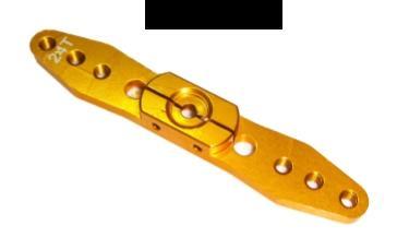Alu Servohebel 70mm (24T Hitec) 2-Arm