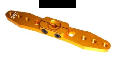 Alu Servohebel 70mm (25T) 2-Arm
