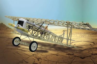 Fokker D VII CNC Lasercut