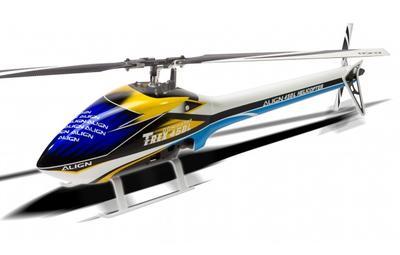 Speed Rumpf T-Rex 450L, blau-weiss