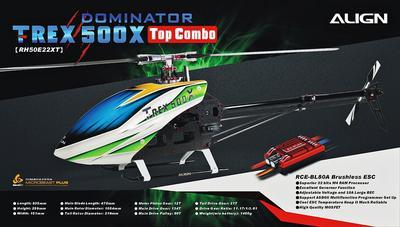 T-Rex 500X Top Combo Beastx