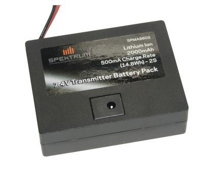 Senderakku 7.4 V / 2000 mA DX6 V2