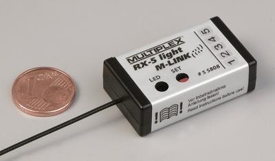 RX-5 light M-LINK 2.4 GHz, Empfänger