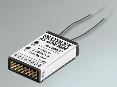 RX-6-DR light M-LINK 2.4 GHz, Empfänger