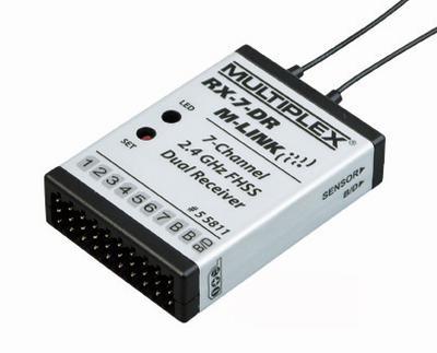 RX-7-DR M-LINK 2.4 GHz, Empfänger