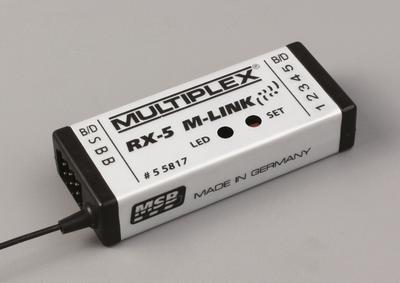 RX-5 M-LINK 2.4 GHz, Empfänger