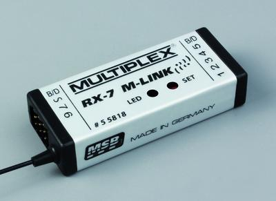 RX-7 M-LINK 2.4 GHz, Empfänger