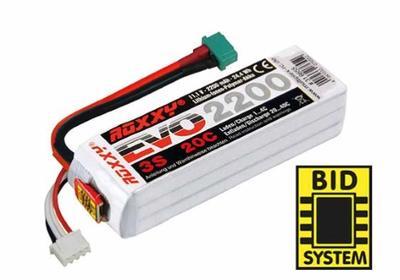 ROXXY EVO LiPo 3 - 2200M 20C mit/with BID-Chip