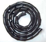 Spiralschlauch 5 x 3,7 mm , schwarz