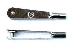 Gabelkopf (V) M 2, 10 Stk.