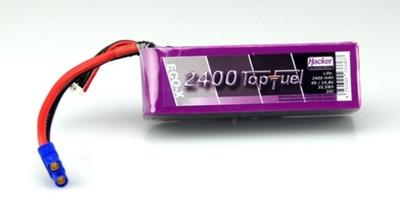 LiPo 20C-ECO-X 2400mAh 4S