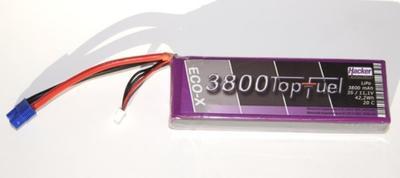 LiPo 20C-ECO-X 3800mAh 3S