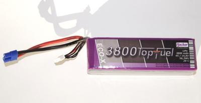 LiPo 20C-ECO-X 3800mAh 4S