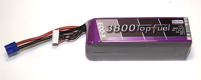 LiPo 20C-ECO-X 3800mAh 6S