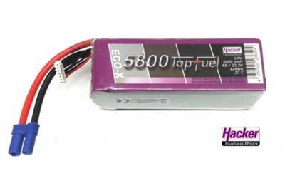 LiPo 20C-ECO-X 5800mAh 6S