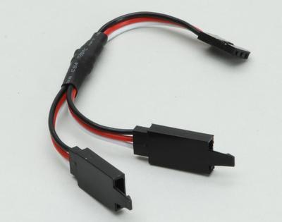 V-Kabel Futaba 100 mm mit Verschluss