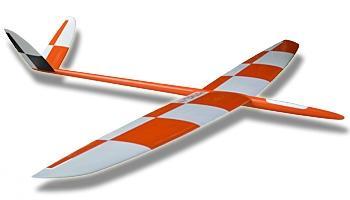 RotMilan GFK (F3B/F3F), weiss-orange