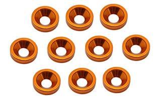 Senkkopf-Unterlegscheiben M3, orange