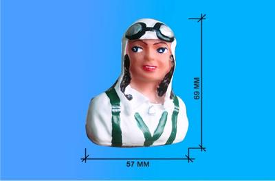 Pilot bemalt 57/69 mm