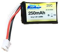 2S LiPo 7.4V 250mAh 25C